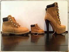 Timberland for Daddy, baby & Mommy