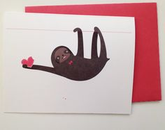 Nothing says love quite like a sloth