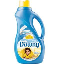 Ultra Downy® Sun Blossom Fabric Softener Liquid.