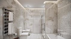 Gorgeous bathroom design.