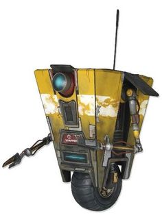 Claptrap! Get down with your bad self! #borderlands #xbox360 #ps3