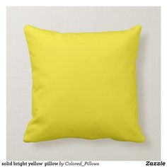 Shop Golden yellow mustard yellow pillow created by Colored_Pillows. Personalize it with photos & text or purchase as is! Yellow Throw Pillows, Modern Throw Pillows, Colorful Pillows, Throw Cushions, Decorative Throw Pillows, Mustard Bedding, Kids Pillows, Decor Pillows, Disney Pillows