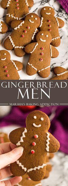 Gingerbread Men   marshasbakingaddiction.com @marshasbakeblog