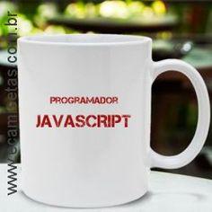 Caneca Javascript - R$ 27,90