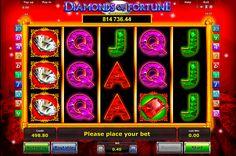 """Spielautomat """"Diamonds of Fortune"""" von Novomatic - hat keine Analoge! Teste dein Glück und knacke Progressiver Jackpot! Spiele kostenlos und habe Spass!"""