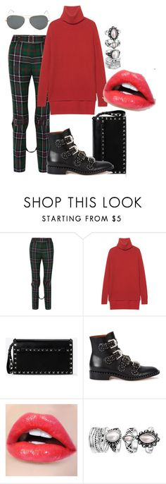 """rgb"" by xxelectre on Polyvore featuring moda, Gucci, Jadicted, Valentino, Givenchy e Ray-Ban"