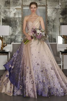 Wedding Trend- Floral Wedding Dresses - K'Mich Weddings Soiree