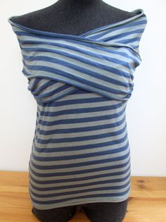 It's actually a nursing top (which I do not need!), but I think it looks easy enough to make!