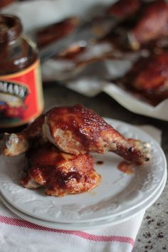 Apple Butter Bbq Sauce Smothered Grilled Chicken