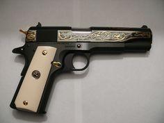 1911 45ACP BLUE SAM COLT 200TH ANNIVERSARY - Anacortes Gun Shop