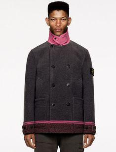 Split Design, Shearling Jacket, Stone Island, Puffer Jackets, Chef Jackets, Bomber Jacket, Take That, Coat, Sweaters