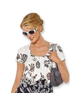 T-shirt forme tunique Anne Weyburn IMPRIME > Daxon