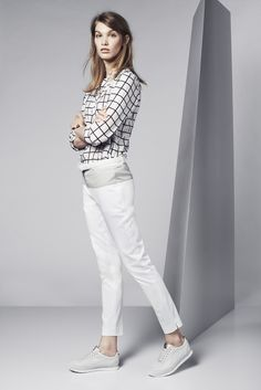 The #smart and #chic #outfit from #Lacoste Match Point collection