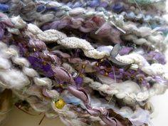 "Labyrinth art yarn: ""As the World Falls Down"" | Coolclimates fiber and handspun yarn"
