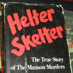 1974 Helter Skelter Book First Edition by saltsmansoap on Etsy, $12.00