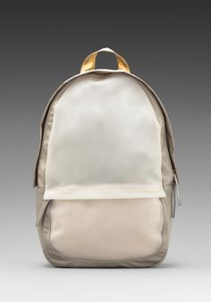 a75f3321debf Haerfest Shell Backpack in Stone  Gold  White Stone Gold