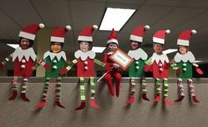 Picture Santa Paper Art For Office Cubicle Christmas Decoration