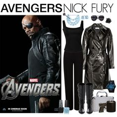 [Outfits inspired by The Avengers] AVENGERS Ensemble | Nick Fury, created by leighanned on Polyvore