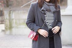 Livin up a notch: Wednesday work look: Safe greys