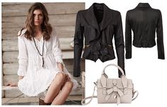 BautaWitch outfit from Joy  #fashion #outfit #dress #jacket #bag