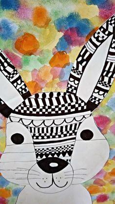 Tvoříme s dětmi ☺: Veselé Velikonoce....:) Mandala, Playing Cards, Snoopy, Easter, Jar, Logos, Fictional Characters, Ideas, Visual Arts