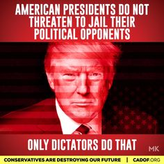 Trump wants to be a dictator. He is NOT an elected king.