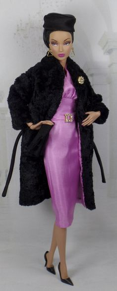 Black Orchid for Silkstone Barbie and Victoire by MatisseFashions
