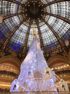 Christmas in the Galleries Lafayette, Paris