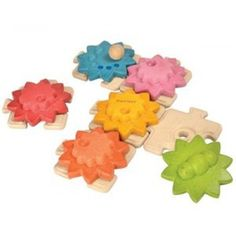 Gears & Puzzles (Standard) by Plan Toys