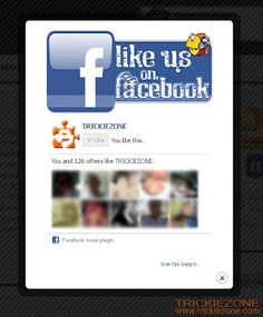 Facebook Likes, Popup, Ads, Content, Website, Create, Awesome, Pop Up