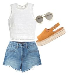 """""""Untitled #86"""" by mikai-toot on Polyvore featuring Alexander Wang, Rebecca Taylor and Le Specs"""