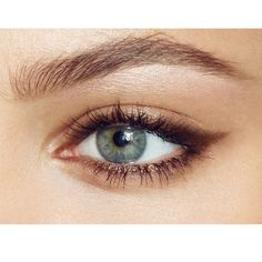 Smokey cat eye. Putting on our list of makeup looks to try with our new Urban Decay Naked palette.
