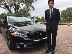 Thanks to @JaguarUSA for the ride to #Oscars   #jaguarinla