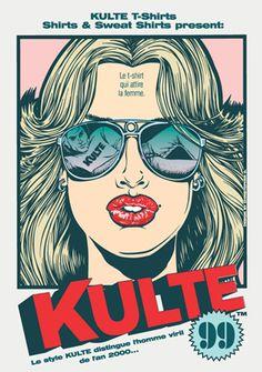 Kulte, le t shirt qui attire la femme ...