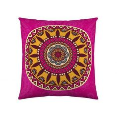 Luxury Dusky Pink Quilted Velvet Cushion Cover Geometric 'Eternity Ring' Pattern, 45 x 45 cm Printed Cushions, Scatter Cushions, Cotton Velvet, Pink Velvet, Pink Quilts, Cushion Inserts, Velvet Cushions, Eternity Ring, Rosettes