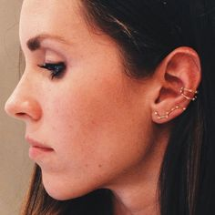 30 Extreme Piercings That Put Single Studs To Shame #refinery29  http://www.refinery29.com/extreme-piercing#slide-26  This Big Dipper earring is Ursa Major (see what we did there?).