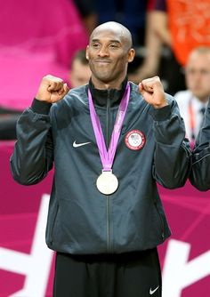 Kobe Bryant ...  USA Men's Basketball Medal Ceremony