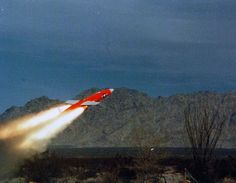 428-GX-KN-31555_Box 875: A MQM-74C Chukar Target Drone is ground launched by the Target Detachment from Fleet Composite Squadron Three (VC-3). VC-3 is based at Tacna, Arizona. VC-3 is based at the Naval Air Station, North Island, San Diego, California. Photographed by AE2 Larry Souza, January 23, 1981. Photographed from reference card. Us Navy Uniforms, Rockets, Drones, Larry, San Diego, Arizona, January, Target, Military
