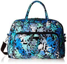 Amazon.com: Vera Bradley Weekender Duffle Bag, Parisian Paisley, One Size: Vera Bradley: Clothing