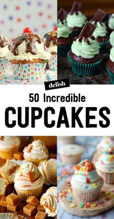 50 Easy Cupcake Recipes from Scratch - How to Make Homemade Cupcakes - Delish.com