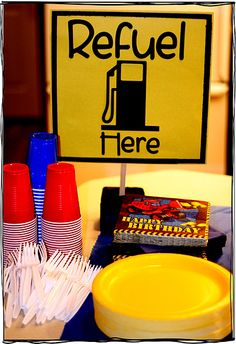 refuel sign | jarombishop | Flickr