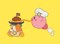 KIRBY CAFE-- I always wanted to go there...