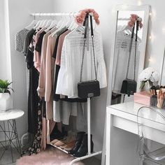 "5 Likes, 1 Comments - FOX on the ROCKS (@fotr_fashion) on Instagram: ""Dressing Area Envy ♡ Credit - Pinterest •••••••••••••••••••••••••••••••••••••••••••••••• #pinterest…"""