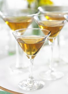 Vanilla martinis