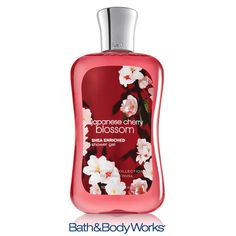 NEW & Improved Japanese Cherry Blossom Shower Gel — now with Shea Butter! <3    #LUVBBW  BY FAR MY FAVORITE I HAVE THE BODY SPRAY LOTION AND SHOWER GEL Bath Body Works Coupon, Best Home Fragrance, Body Cleanser, Perfume, Bath And Bodyworks, Skin Brightening, Shower Gel, Body Wash, Cherry Blossom