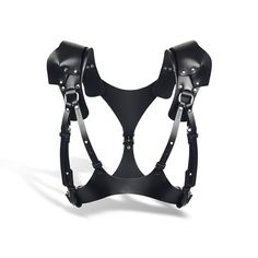 Steise Black Saddle Harness - TEO+NG