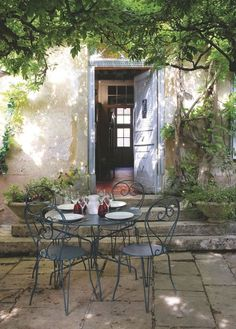 A French Country Charming Scene.