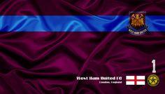 West Ham United FC - Veja mais Wallpapers e baixe de graça em nosso Blog http://soccerflags.blogspot.com.br