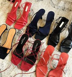 Monikh Dale - 'The Carrie Heel' - a strappy, minimalist kitten heel, the . Strappy Heels, Pumps Heels, Stiletto Heels, Strappy Sandals Outfit, Cute Shoes, Me Too Shoes, Easy Style, Modelos Plus Size, Mode Inspiration