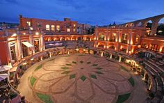 Quinta Real Zacatecas, converted bullring hotel in Zacatecas, Mexico.  I have stayed here :) :)